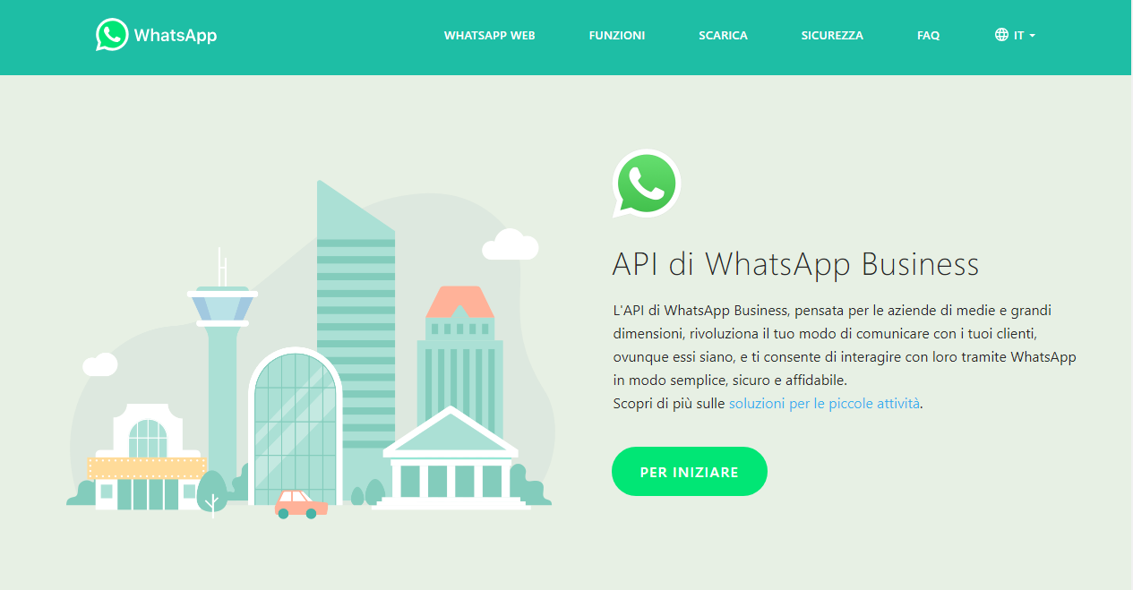 API di WhatsApp Business